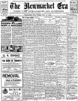 Newmarket Era (Newmarket, ON1861), October 11, 1907