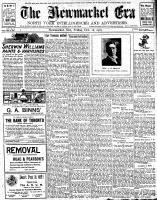 Newmarket Era (Newmarket, ON1861), October 18, 1907