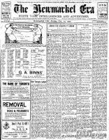 Newmarket Era (Newmarket, ON1861), October 25, 1907