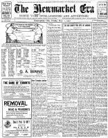 Newmarket Era (Newmarket, ON1861), November 1, 1907