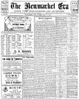 Newmarket Era (Newmarket, ON1861), November 8, 1907