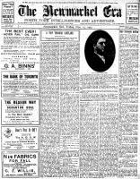 Newmarket Era (Newmarket, ON1861), November 15, 1907