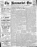 Newmarket Era (Newmarket, ON1861), November 22, 1907