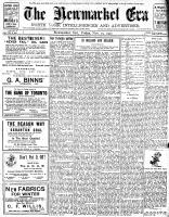 Newmarket Era (Newmarket, ON1861), November 29, 1907