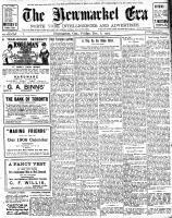 Newmarket Era (Newmarket, ON1861), December 6, 1907