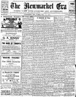 Newmarket Era (Newmarket, ON1861), December 13, 1907