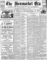Newmarket Era (Newmarket, ON1861), December 20, 1907