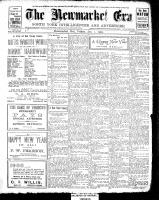 Newmarket Era (Newmarket, ON1861), January 1, 1909