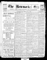 Newmarket Era (Newmarket, ON1861), July 23, 1909