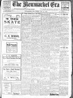 Newmarket Era (Newmarket, ON1861), January 27, 1911
