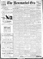 Newmarket Era (Newmarket, ON1861), February 3, 1911