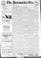 Newmarket Era (Newmarket, ON1861), February 17, 1911