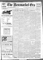 Newmarket Era (Newmarket, ON1861), July 28, 1911