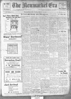 Newmarket Era (Newmarket, ON1861), March 15, 1912
