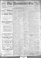 Newmarket Era (Newmarket, ON1861), September 27, 1912