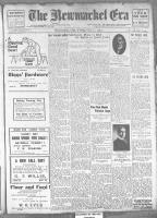 Newmarket Era (Newmarket, ON1861), October 11, 1912
