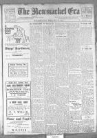 Newmarket Era (Newmarket, ON1861), October 18, 1912