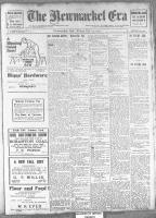 Newmarket Era (Newmarket, ON1861), October 25, 1912