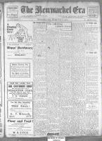 Newmarket Era (Newmarket, ON1861), November 8, 1912