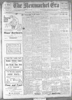 Newmarket Era (Newmarket, ON1861), November 22, 1912