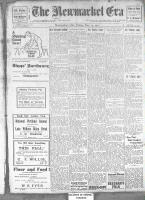 Newmarket Era (Newmarket, ON1861), November 29, 1912