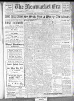 Newmarket Era (Newmarket, ON1861), December 20, 1912