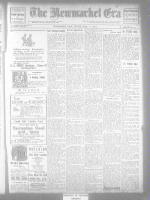 Newmarket Era (Newmarket, ON1861), August 1, 1913
