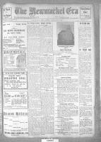 Newmarket Era (Newmarket, ON1861), July 21, 1916