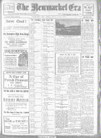 Newmarket Era (Newmarket, ON1861), September 27, 1918