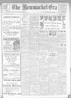 Newmarket Era (Newmarket, ON), December 27, 1918
