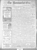 Newmarket Era (Newmarket, ON), April 25, 1919
