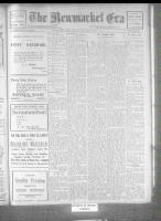 Newmarket Era (Newmarket, ON), January 6, 1922