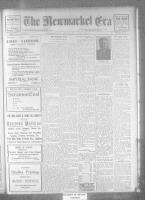 Newmarket Era (Newmarket, ON), January 11, 1922