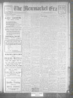 Newmarket Era (Newmarket, ON), January 18, 1922