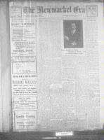 Newmarket Era (Newmarket, ON), January 25, 1922