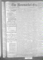 Newmarket Era (Newmarket, ON), February 24, 1922