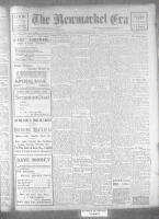 Newmarket Era (Newmarket, ON), March 3, 1922