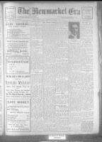 Newmarket Era (Newmarket, ON), March 17, 1922