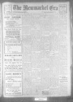 Newmarket Era (Newmarket, ON), March 24, 1922