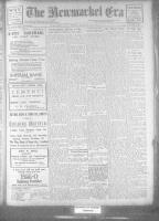 Newmarket Era (Newmarket, ON), March 31, 1922
