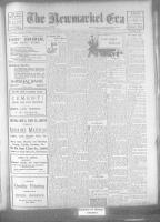 Newmarket Era (Newmarket, ON), April 14, 1922