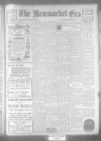 Newmarket Era (Newmarket, ON), April 21, 1922