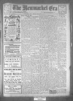 Newmarket Era (Newmarket, ON), May 5, 1922