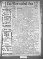 Newmarket Era (Newmarket, ON), May 12, 1922