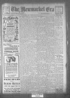 Newmarket Era (Newmarket, ON), May 19, 1922