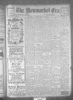 Newmarket Era (Newmarket, ON1861), September 15, 1922