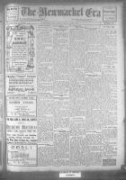 Newmarket Era (Newmarket, ON1861), October 27, 1922