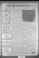 Newmarket Era (Newmarket, ON1861), November 3, 1922