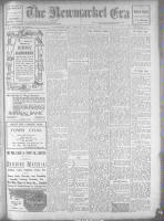 Newmarket Era (Newmarket, ON1861), November 10, 1922