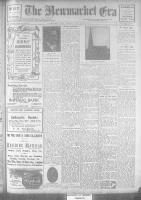 Newmarket Era (Newmarket, ON1861), November 17, 1922